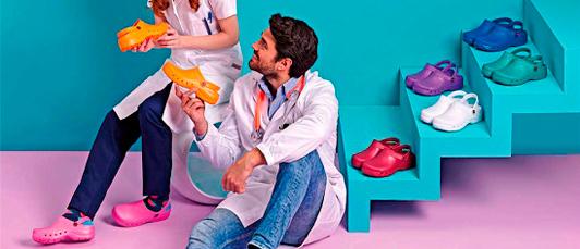 Calzado sanitario y hostelería